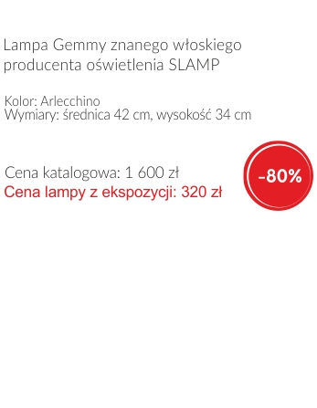 lampa Gemmy,Slamp