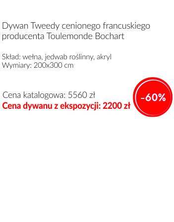 dywan Toulemonde Bochart, Tweedy