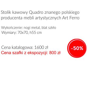 Stolik Art Ferro